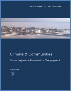 ELI - Climate & Communities - Full Report