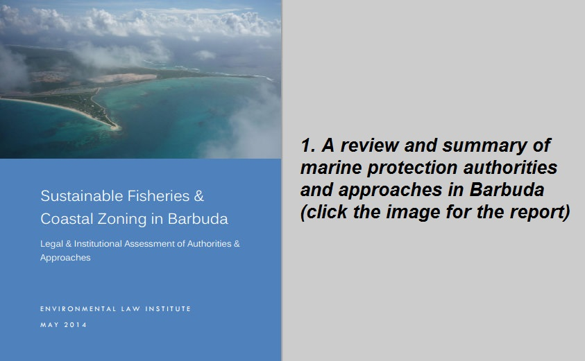 Sustainable Fisheries and Coastal Zoning in Barbuda